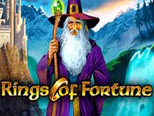 Игровой автомат Rings Of Fortune от разработчика Novomatic